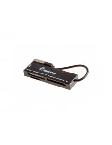 Картридер внешний универсальный <SBR-717-K> черный USB 2.0 SmartBuy SBR-717-K