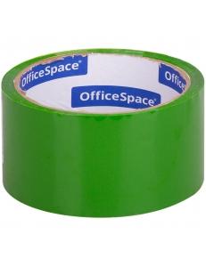 """Скотч 48ммх40м 45мкм зеленый <КЛ_6287> """"OfficeSpace"""" 212004"""