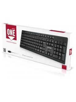 Клавиатура проводная черная <SBK-112UM-K> USB SmartBuy SBK-112UM-K