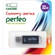Флэш-карта 32Gb USB 2.0 E01 Черная с колпачком Economy series PERFEO