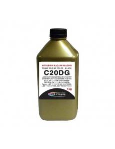 Тонер HP Color LJ CP2025/M351/CP1215/LBP7100 Универсал typeC20DG Black (1кг) Chemical Gold ATM 2621800000