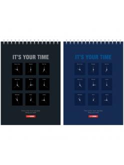 "Блокнот А5  40л. на гребне ""Офис.It's your time""  ""Спейс"" 219850"