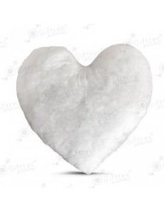 Наполнитель для подушки в виде сердца 40x40см 10766