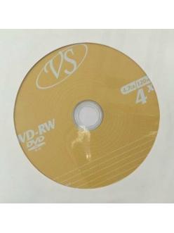 DVD+RW VS 4.7Gb 4x Brand 1шт.в конверте