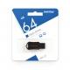 Флэш-карта 64Gb USB 2.0 UNIT Black Mini брелок SmartBuy