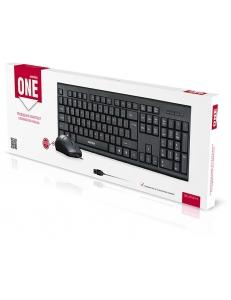Набор Клавиатура+Мышь проводные <SBC-227367-K> черный SmartBuy SBC-227367-K