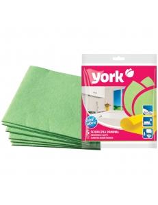 Салфетка для уборки York вискоза, 38*30см, 5шт., европодвес <0220020> York 225070