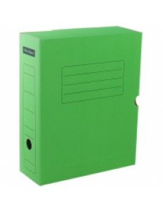 "Короб архивный А4 (100мм) микрогофрокартон ""OfficeSpace"" зеленый 225410"