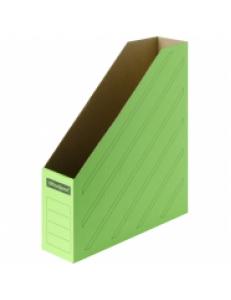 """Накопитель архивный А4 ширина 75мм (микрогофрокартон) Зеленый """"OfficeSpace"""" 225418"""