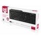 Клавиатура проводная мультимедийная черная  <SBK-234-K> USB SmartBuy SBK-234-K