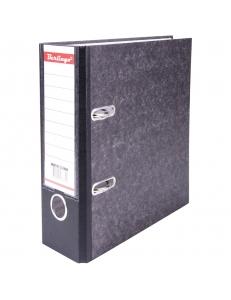 """Регистратор А5 70мм черный, карман, мрамор <АМ5710> """"BERLINGO"""" 232551"""