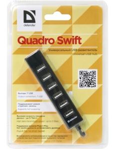 USB HUB 7 портов Quadro Swift USB 2.0 <83203> Defender 83203