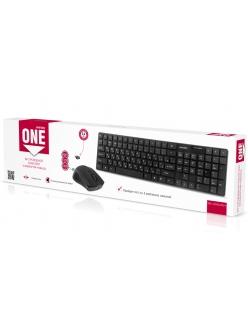 Набор Клавиатура+Мышь беспроводной <SBC-229352AG-K> черный SmartBuy SBC-229352AG-K