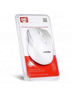 Мышь беспроводная белая <SBM-602AG-W> USB SmartBuy SBM-602AG-W
