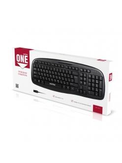 Клавиатура проводная черная <SBK-116-K> USB SmartBuy SBK-116-K