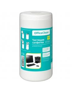 """Чистящие салфетки (Туба 100шт.) универсальные """"OfficeClean"""" 248262"""