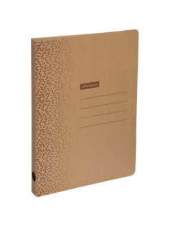 "Папка картон скоросшиватель (30мм) микрогофрокартон, бурый, до 300л. ""OfficeSpace"" 264790"