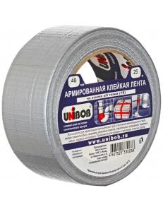"""Клейкая лента армированная 48мм*25м, серая, инд.упаковка <29836> """"Unibob"""" 271459"""