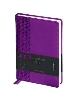 """Ежедневник А5 160л. недатированный """"Vivella Prestige"""" фиолетовый <UD0_80509> """"Berlingo"""" 276375"""