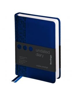 """Ежедневник А6 160л. недатированный """"Vivella Prestige"""" синий <UD0_80601> """"Berlingo"""" 276417"""