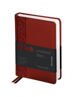 """Ежедневник А6 160л. недатированный """"Vivella Prestige"""" коричневый <UD0_80602> """"Berlingo"""" 276418"""
