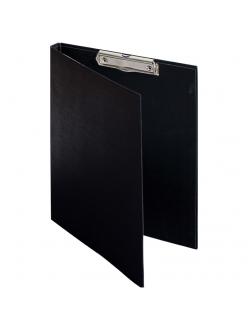 """Папка-планшет c крышкой черный А4 с зажимом, бумвинил """"OfficeSpace"""" 276563"""