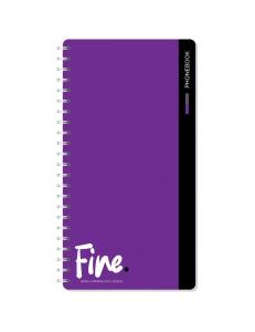 "Алфавитная книжка А5 80л. на гребне ""Моноколор.Fine color"" <Тк80г_25349> ""OfficeSpace"" 278778"