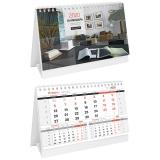 """Календарь-домик 2020г. """"Business"""" на гребне, горизонтальный, с бегунком  160х105мм """"Спейс"""" 281082"""