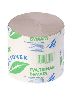 Бумага туалетная Листочек, без втулки, серая, 30м. 282449