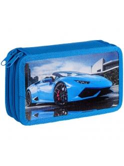 """Пенал 2отделения 190х110 """"Cool car"""" ламинированный картон <ПК2_29105> ArtSpace 292956"""