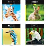 """Тетрадь общая 48л (клетка) """"Животные.Save wild world"""" <Т48к_29620> """"ArtSpace"""" 294606"""
