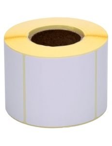 Термоэтикетки 58х60х500шт./рул. ЭКО, белые (коробка 48 рул.) Akzent 301519