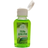 Гель антисептический для рук, с экстрактом зеленого чая, 100мл. <КС-09> Harmony of Body 302478