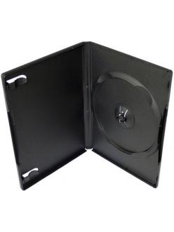 Бокс на  1 DVD 14мм (черный глянцевый) 2000032730010