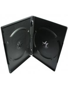 Бокс на  2 DVD  9мм (черный глянцевый) 2000033420019