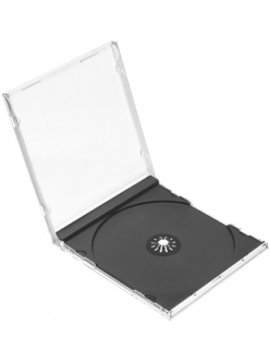 Бокс на  1 СD Jewel (черный) 2000036250019