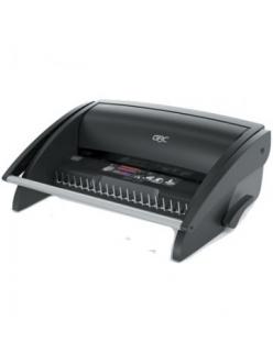 Брошюровщик GBC CombBind C100 перф.9л., до 160л. A4, пластик.пружина до 19мм, черный 4401843
