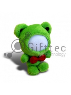 3D Игрушка Лягушка (размер 12 см) запечатка 5х5см / 2-PD26 4314
