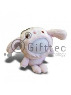 3D Игрушка Медвежонок РОЗОВЫЙ (размер 12см) запечатка 5х5см / 2-PD30 4317