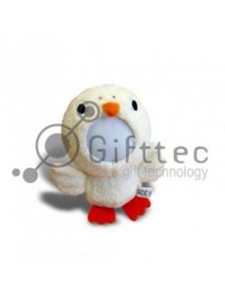 3D Игрушка Утка (размер 12 см) запечатка 5х5см / 2-PD37 4322