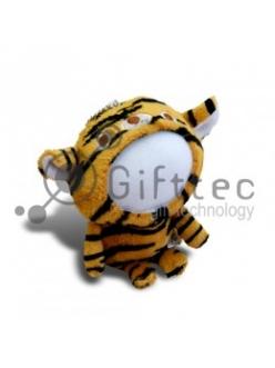 3D Игрушка Тигр (размер 13 см) запечатка 5х5см / 2-PD43 4325