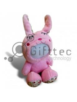 3D Игрушка Кролик Большой, запись голоса 7 сек. (размер 21 см) запечатка 5х5см / 2-PD50 4330