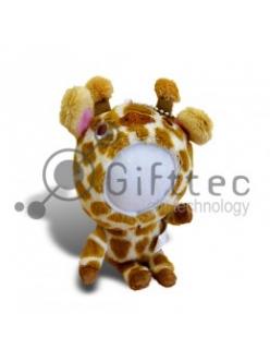 3D Игрушка Жираф (размер  12 см) запечатка 5х5см / 2-PD66 4338