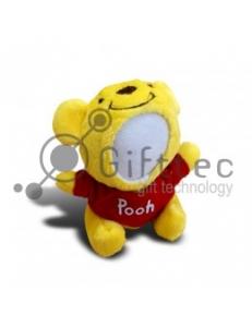 3D Игрушка Винни Пух (размер 13 см) запечатка 5х5см / 2-PD82 4343