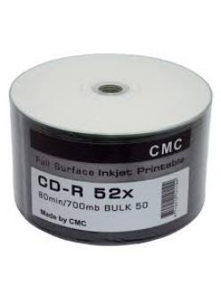 CD-R СМС 700MB 80мин.52x Printable тех.уп.( 50шт.) 4710212141144