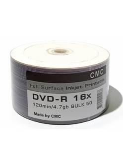DVD-R СМС printable 4.7Gb 16x тех.уп.( 50шт.) 4710212141168
