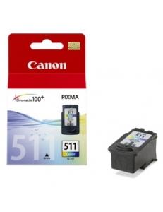 Картридж Canon CL-511 PIXMA MP240/260/480 Color CL-511/2972B007