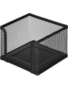 """Подставка для бумажного блока 105x105x78мм металл.сетка, черная <LD01-499-1>""""Attache"""" 688780"""