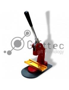 Пресс для закатных значков (крепление: широкие рельсы) 25/32/44/58/75мм 8030