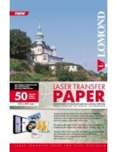 Термотрансферная бумага для лазерной печати для твердых поверхностей (А4/140г/м2/50л.) LOMOND 0807435